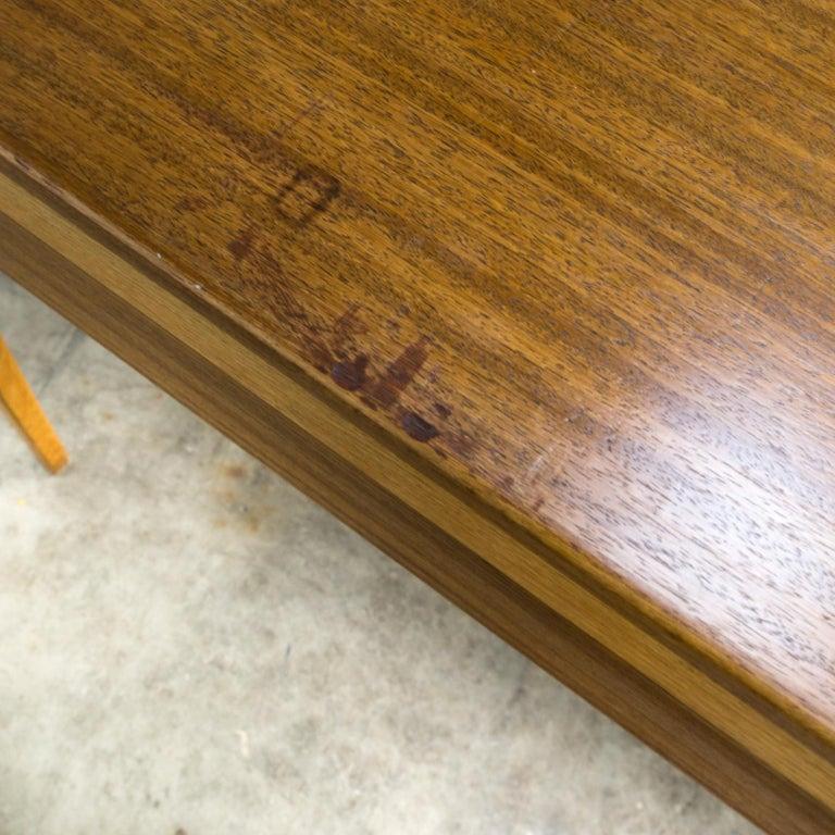 1960s Hartmut Lohmeyer Executive Writing Desk for Wilkhahn For Sale 7