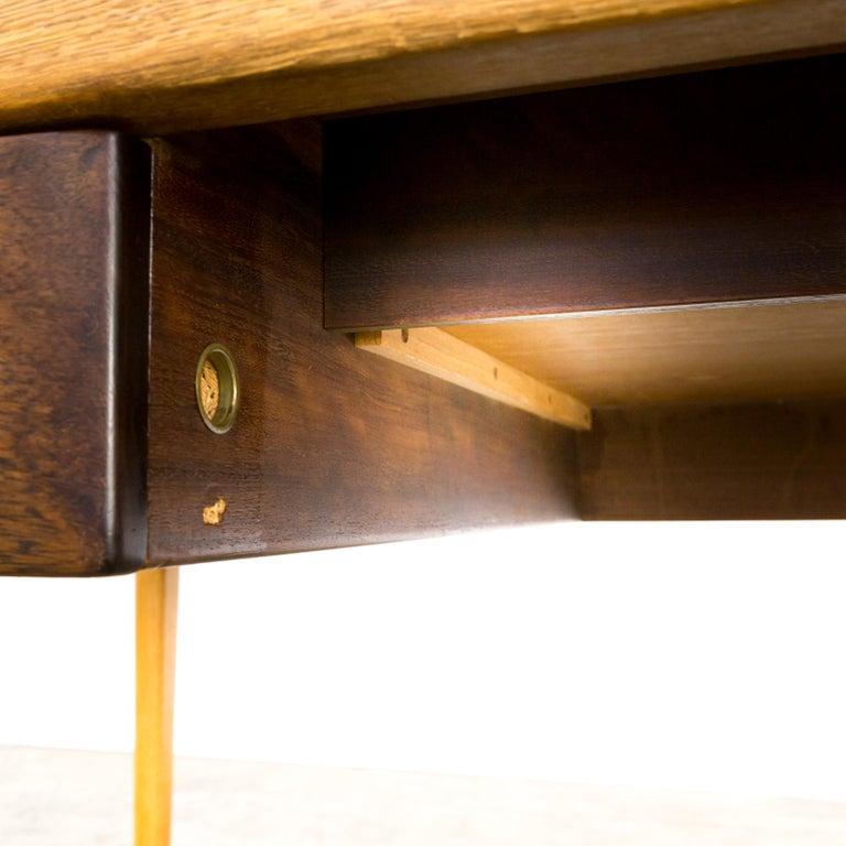 1960s Hartmut Lohmeyer Executive Writing Desk for Wilkhahn For Sale 9