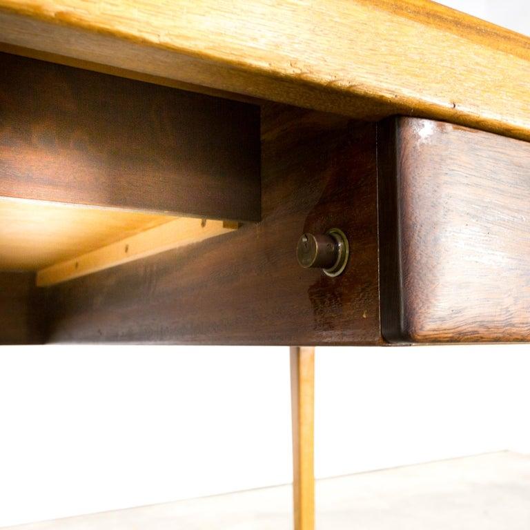 1960s Hartmut Lohmeyer Executive Writing Desk for Wilkhahn For Sale 10