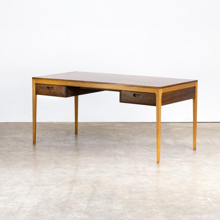German 1960s Hartmut Lohmeyer Executive Writing Desk for Wilkhahn For Sale