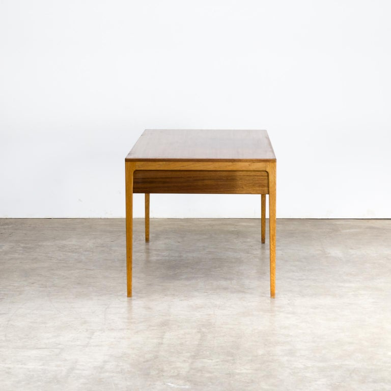 Mid-20th Century 1960s Hartmut Lohmeyer Executive Writing Desk for Wilkhahn For Sale