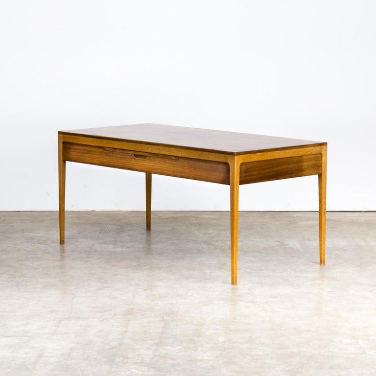 1960s Hartmut Lohmeyer Executive Writing Desk for Wilkhahn For Sale 1
