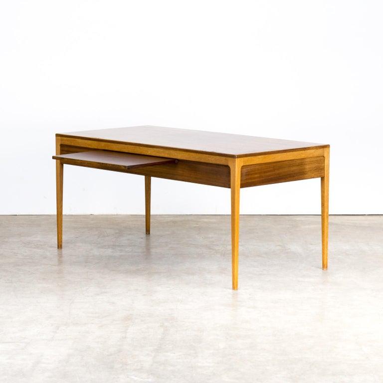1960s Hartmut Lohmeyer Executive Writing Desk for Wilkhahn For Sale 2