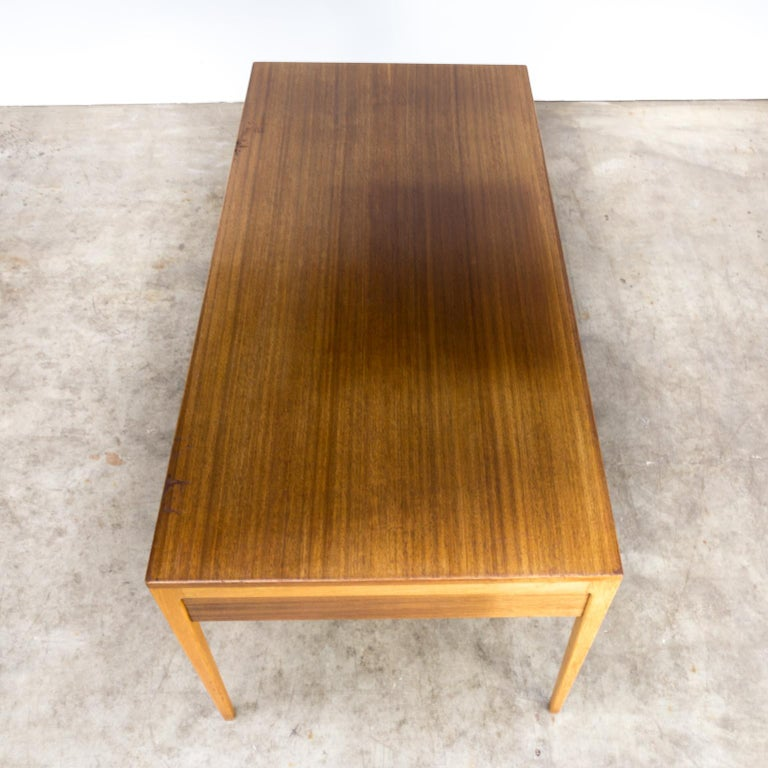 1960s Hartmut Lohmeyer Executive Writing Desk for Wilkhahn For Sale 3
