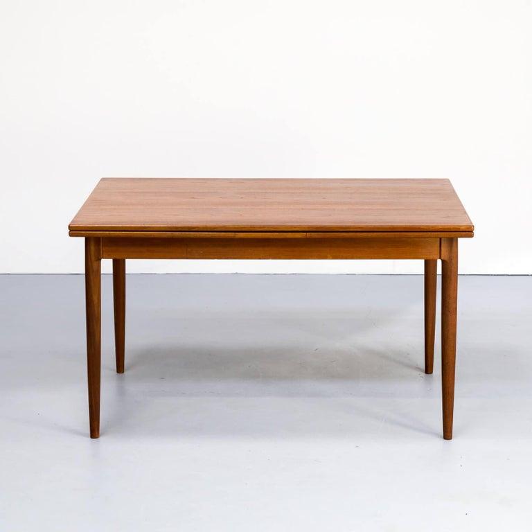 1960s Niels Otto Møller Extendable Dining Table 'Model No 12' for J.L. Møllers 4