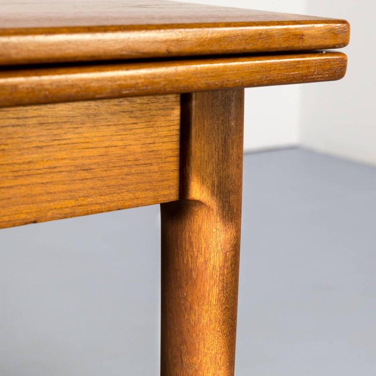 1960s Niels Otto Møller Extendable Dining Table 'Model No 12' for J.L. Møllers 5