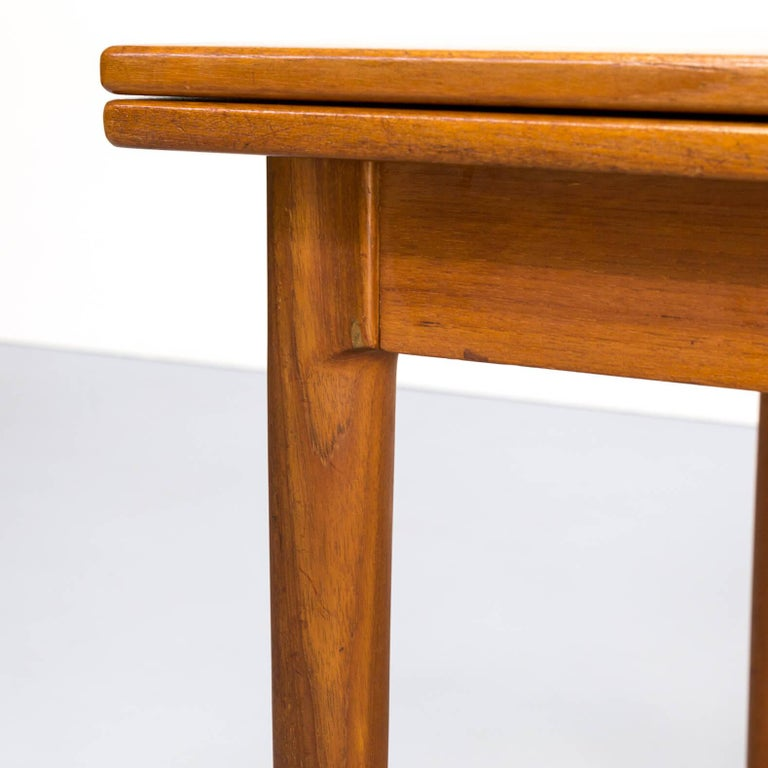 1960s Niels Otto Møller Extendable Dining Table 'Model No 12' for J.L. Møllers 6