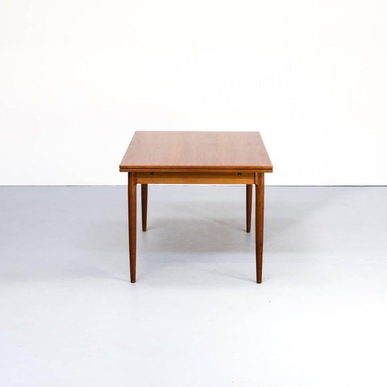 Danish 1960s Niels Otto Møller Extendable Dining Table 'Model No 12' for J.L. Møllers