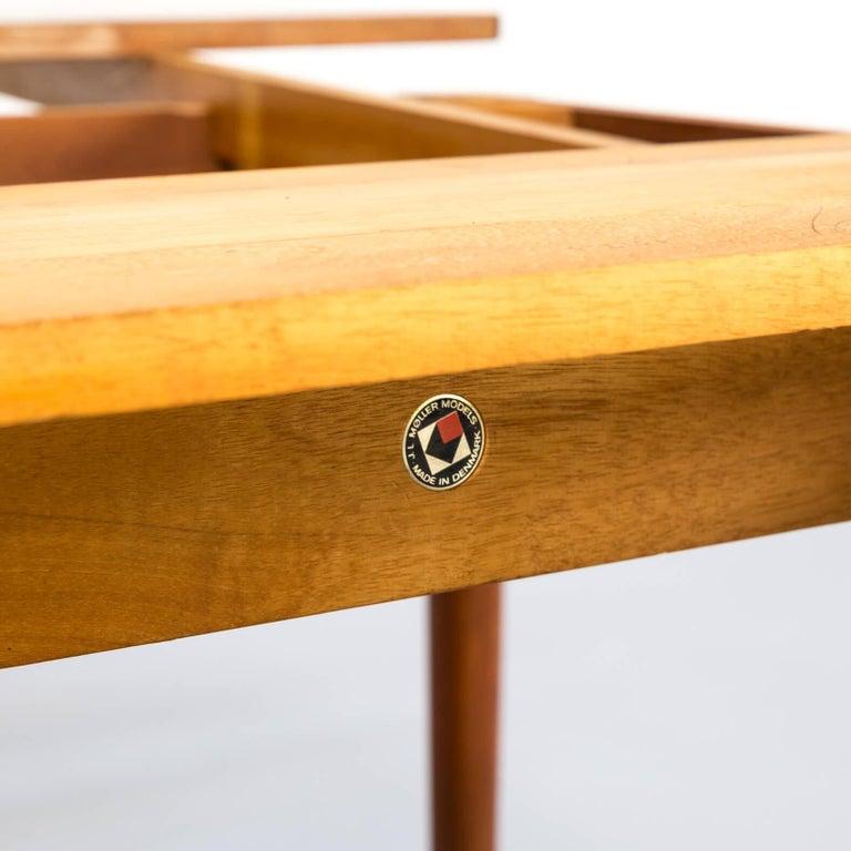 Mid-20th Century 1960s Niels Otto Møller Extendable Dining Table 'Model No 12' for J.L. Møllers