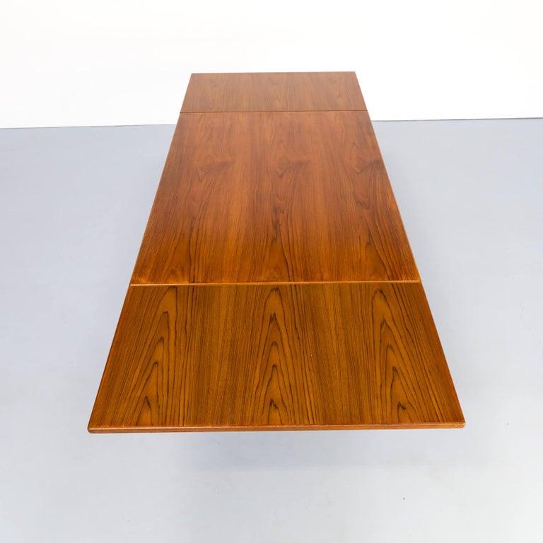 1960s Niels Otto Møller Extendable Dining Table 'Model No 12' for J.L. Møllers 2