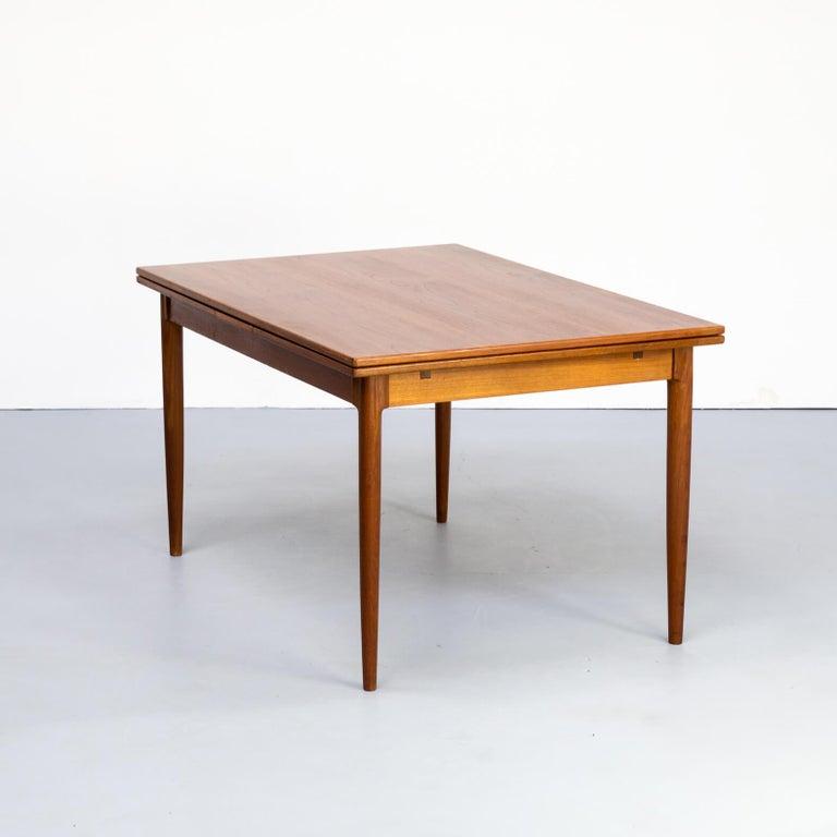 1960s Niels Otto Møller Extendable Dining Table 'Model No 12' for J.L. Møllers 3