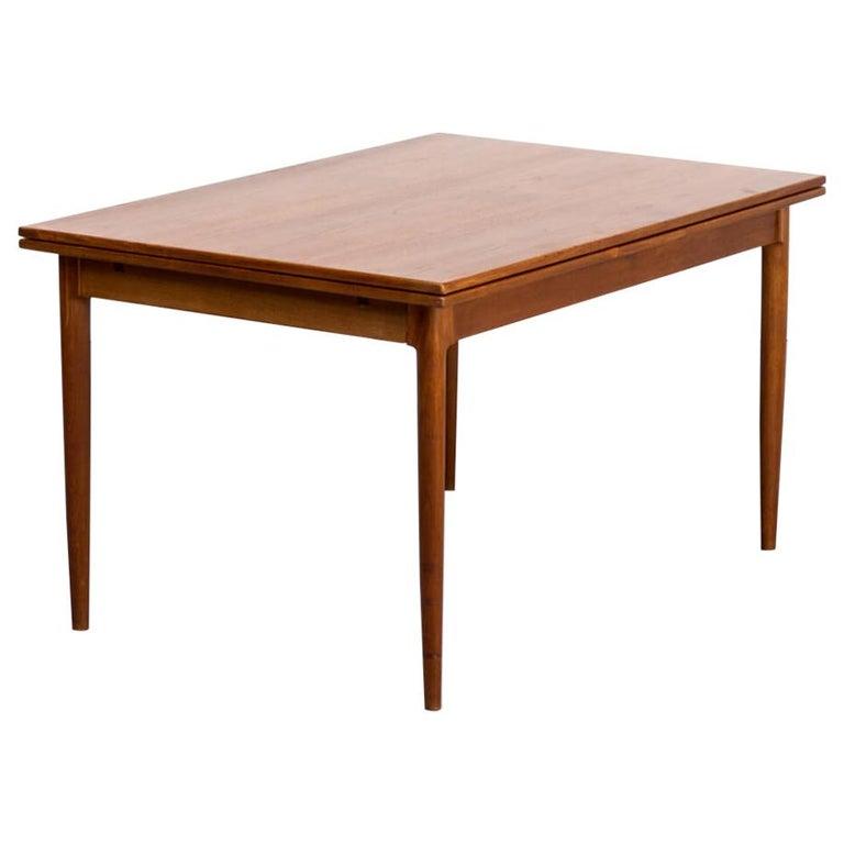 1960s Niels Otto Møller Extendable Dining Table 'Model No 12' for J.L. Møllers