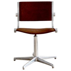 1960s Office Swivel Chair by Röder Söhne, Germany