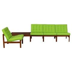 60s Ole Gjerløv Knudsen & Torben Lind Modular Sofa for France & Son