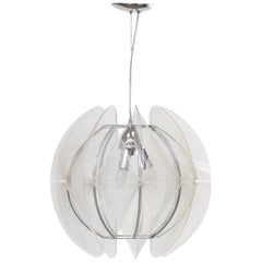 1960s Paul Secon Hanging Lamp for Sompex