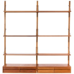 1960s Poul Cadovius Wall Unit for Royal System