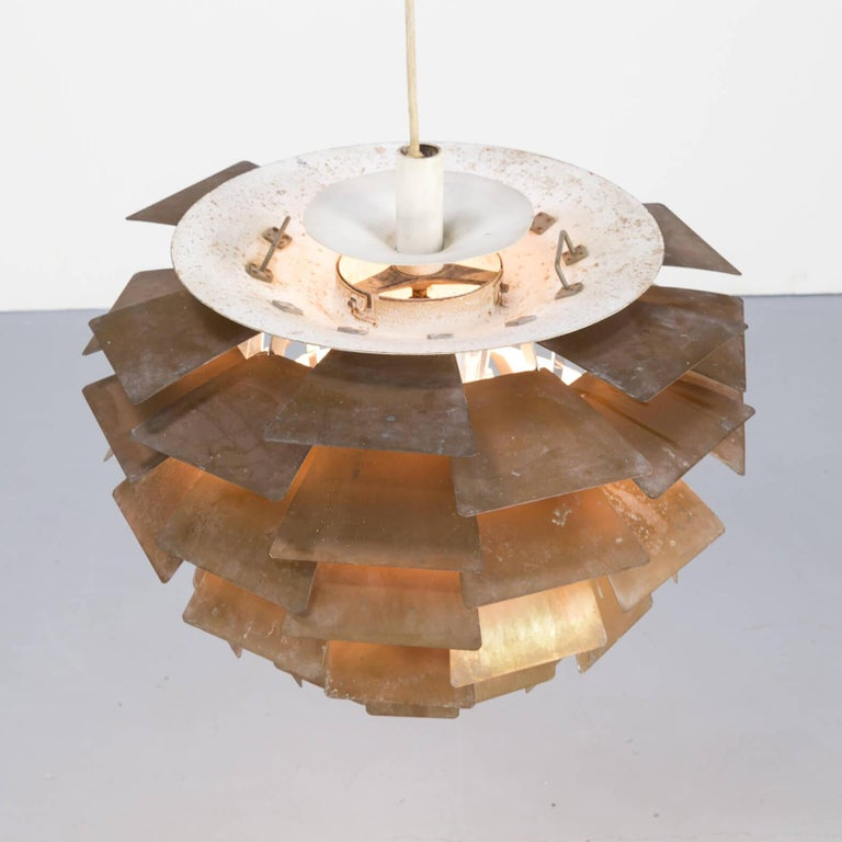 1960s Poul Henningsen 'Artichoke' Pendant Lamp for Louis Poulsen 4