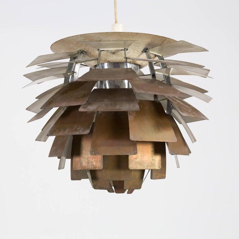 1960s Poul Henningsen 'Artichoke' Pendant Lamp for Louis Poulsen In Fair Condition In Amstelveen, Noord