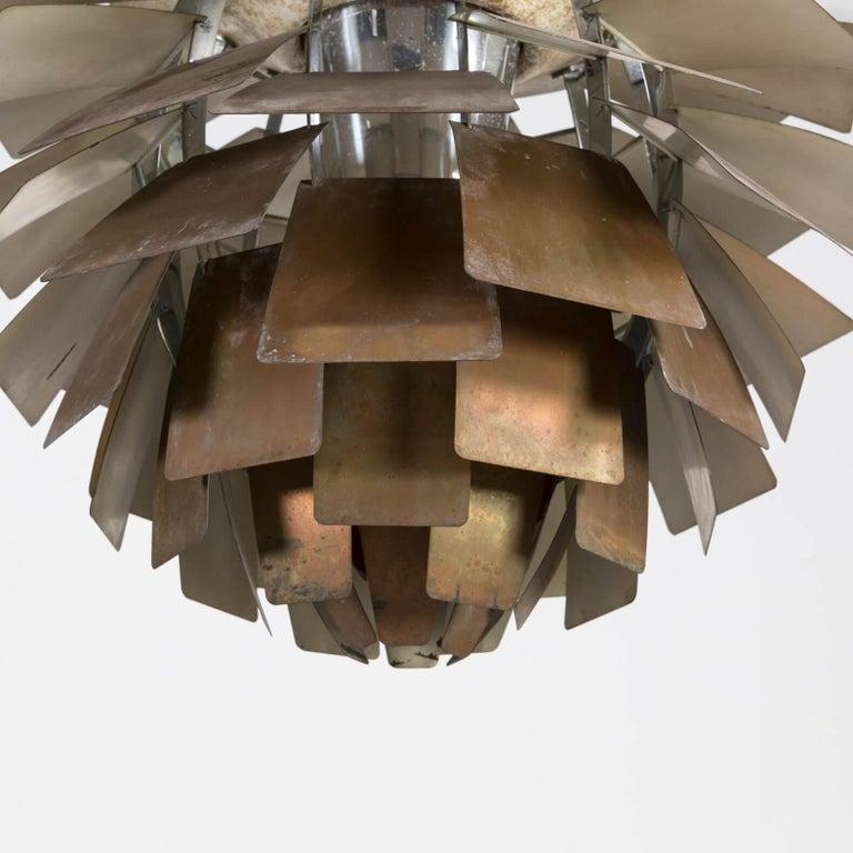 Mid-20th Century 1960s Poul Henningsen 'Artichoke' Pendant Lamp for Louis Poulsen