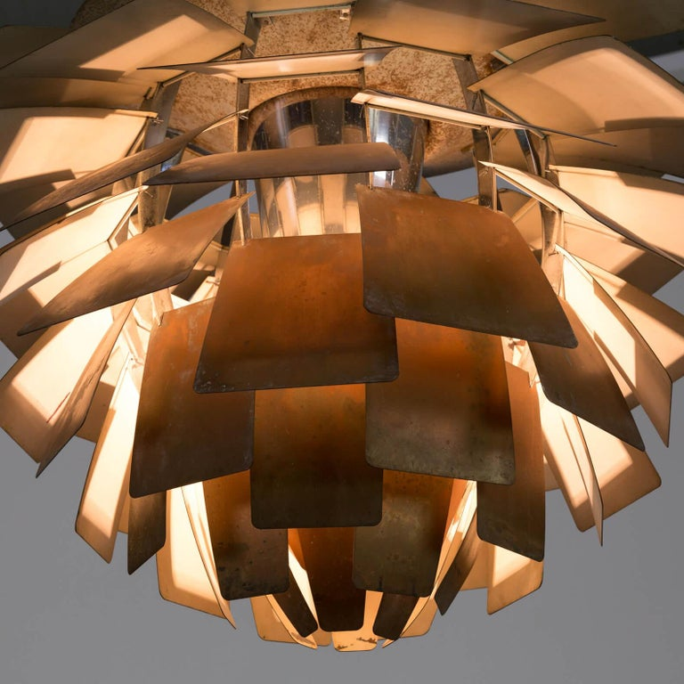 Metal 1960s Poul Henningsen 'Artichoke' Pendant Lamp for Louis Poulsen