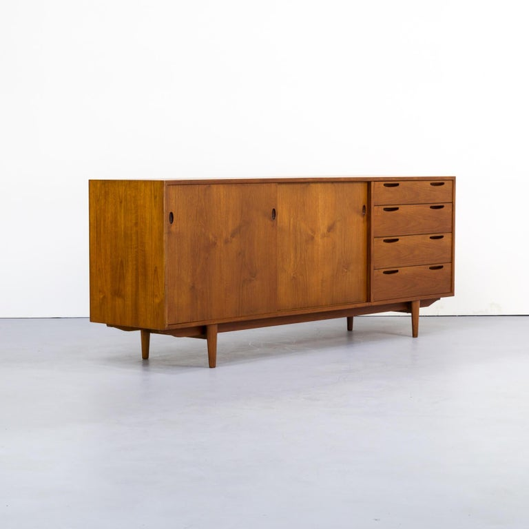 Mid-20th Century 1960s teak sideboard by Ib Kofod-Larsen For Sale