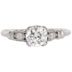 .61 Carat Diamond Engagement Ring