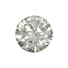 .61 Carat Loose Diamond, Round Brilliant Cut GIA Graded Solitaire I1 I