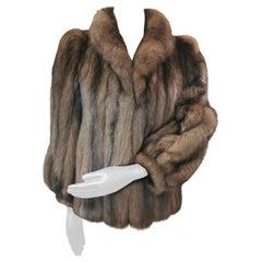 615 Unused Russian sable fur coat size 6