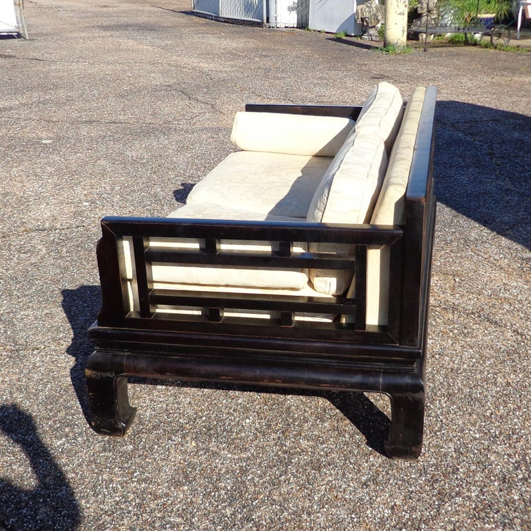 North American Michael Taylor Far East Collection Settee for Baker For Sale