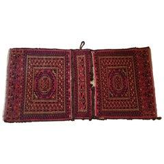 642 -  Beautiful 19th Century Turkmen Bag with a Nice Bukhara Design