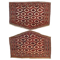 644 -  Pair of Turkmen Asmalik Rugs