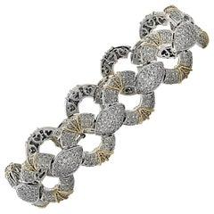6.5 Carat Diamond Pave' Bracelet