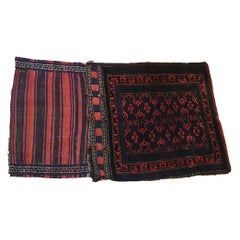 654 - Pretty Little Bukhara Saddle Bag with a Beautiful Design and Colors