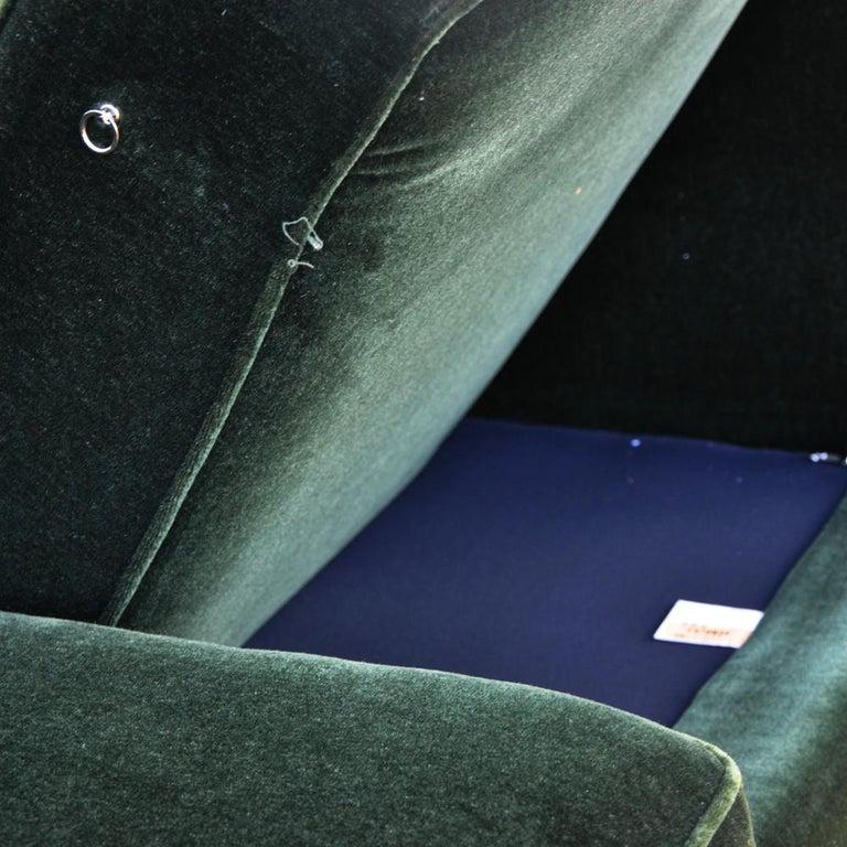 Modern Art Deco Style Bernhardt Sofa For Sale 4