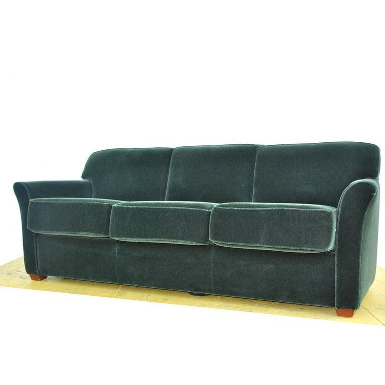 American Modern Art Deco Style Bernhardt Sofa For Sale