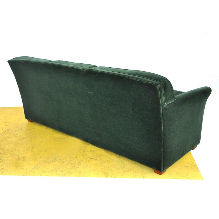 Contemporary Modern Art Deco Style Bernhardt Sofa For Sale