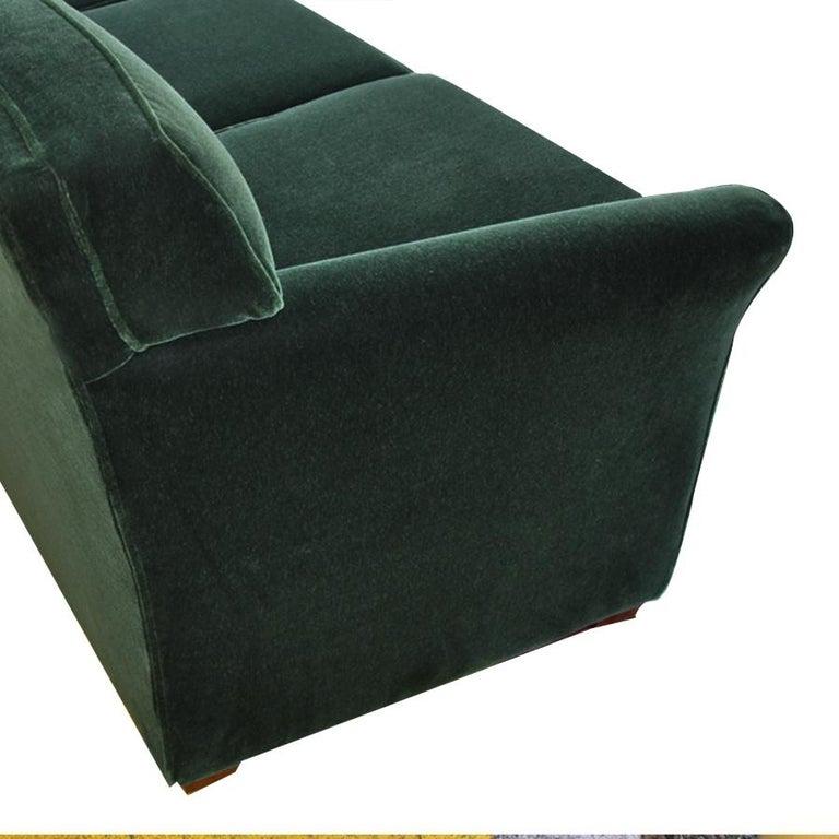 Modern Art Deco Style Bernhardt Sofa For Sale 1