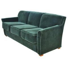 Modern Art Deco Style Bernhardt Sofa