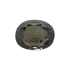 6.65 Carat Oval Shape Natural Alexandrite GIA Certified Unheated