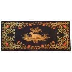 672 - 19th Century Tapestry in Very Fine Needlepoint
