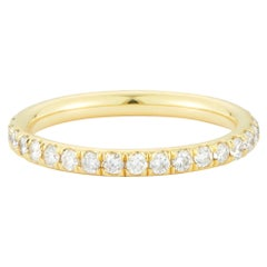 .691 Carat Diamond 18 Karat Gold Eternity Band