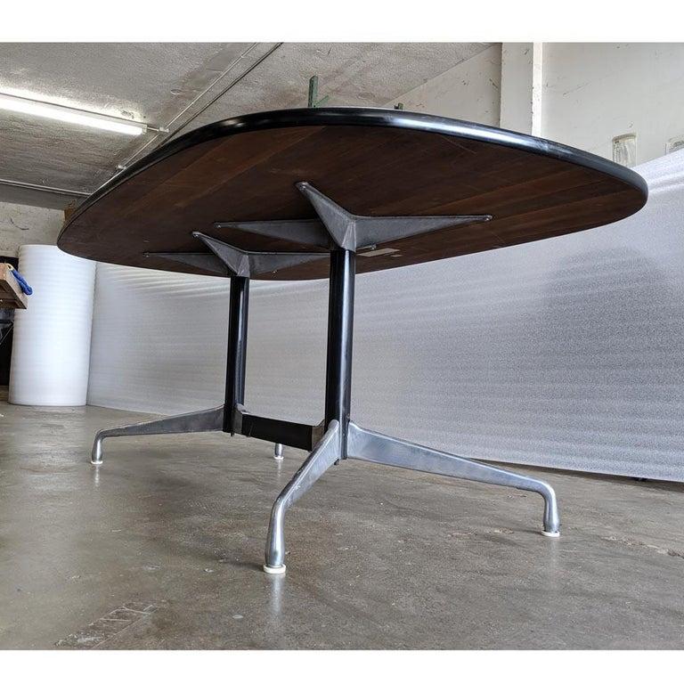 Eames Herman Miller Walnut Conference Table For Sale 1