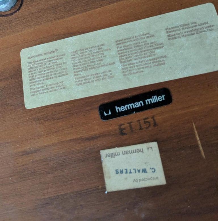Eames Herman Miller Walnut Conference Table For Sale 3