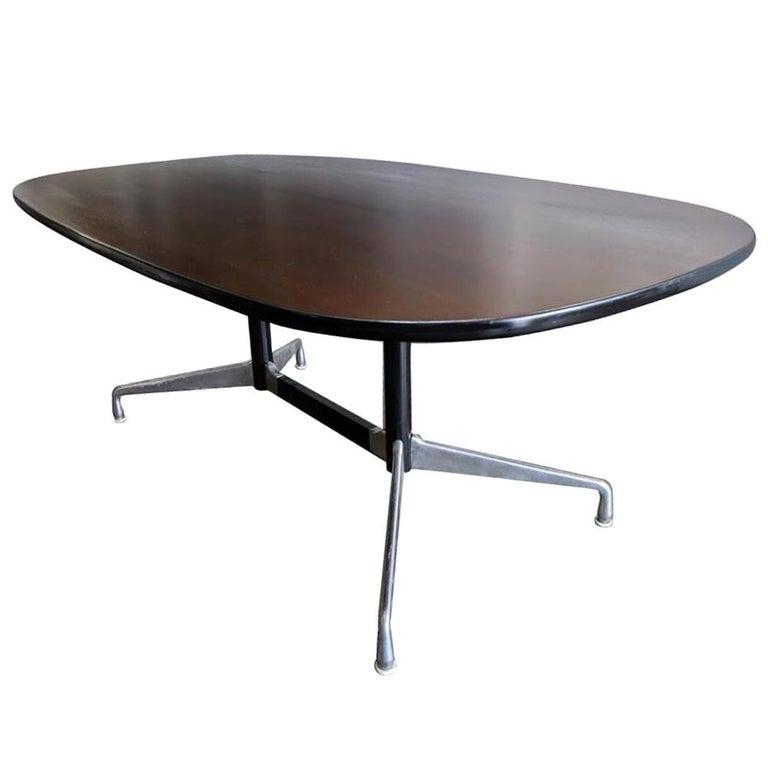 Eames Herman Miller Walnut Conference Table For Sale