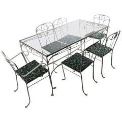 7 Pc Garden Patio Dining Set by Salterini