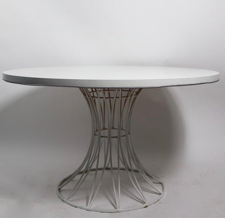 7 Piece Richard McCarthy for Selrite Dining Set For Sale 8