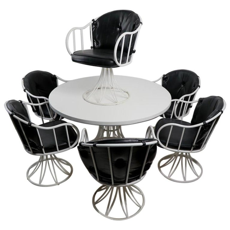 7 Piece Richard McCarthy for Selrite Dining Set For Sale