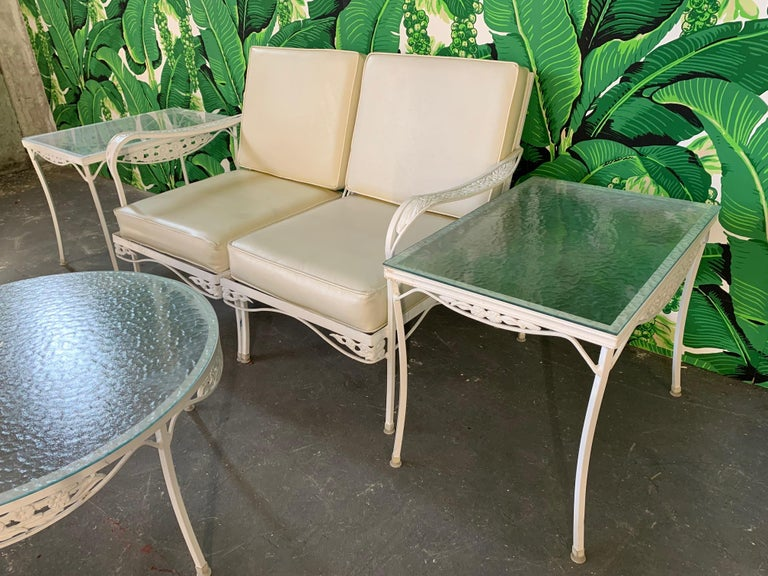 7 Piece Midcentury Patio Set In The Style Of Russell