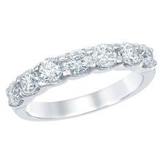 7-Stone Diamond Ring 14 Karat