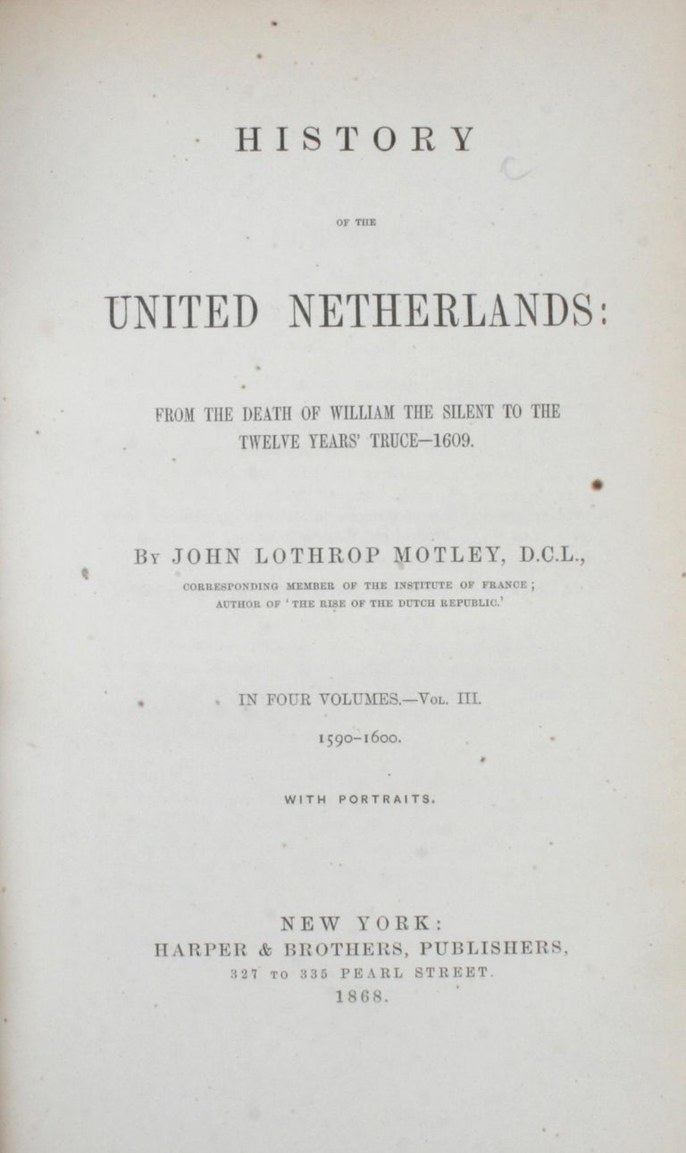 7 Volume Leather Bound Set, Dutch Republic and United Netherlands, First Edition For Sale 3